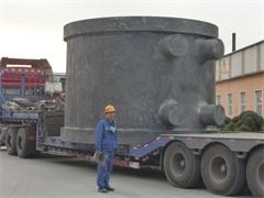 发往河北的的大型渣罐
